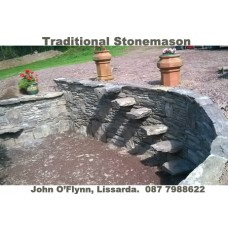 JOHN O'FLYNN, TRADITIONAL STONEMASON